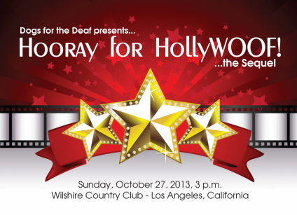 Join Rosalie at the Dogs For The Deaf HollyWOOF Event!
